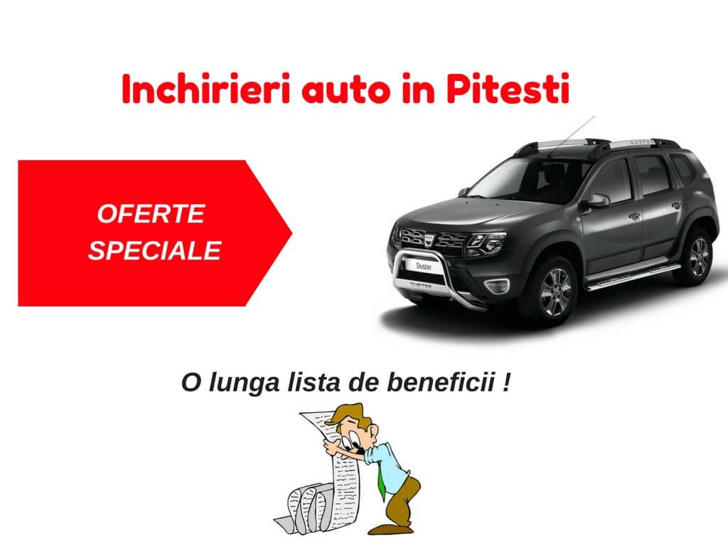 Inchirieri auto Pitesti ieftine